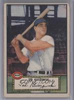 Ted Kluszewski (Red Back) [Good to VG‑EX]