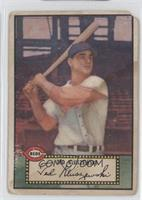 Ted Kluszewski (Black Back) [Poor to Fair]
