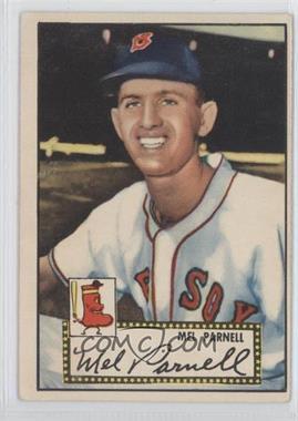 1952 Topps #30 - Mel Parnell