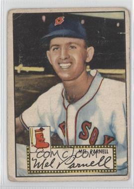 1952 Topps #30.1 - Mel Parnell (Red Back)