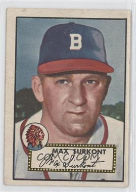 1952 Topps #302 - Max Surkont