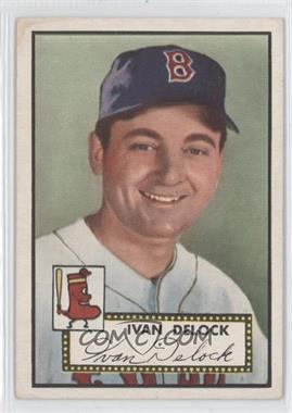 1952 Topps #329 - Ivan Delock [GoodtoVG‑EX]