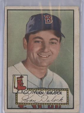 1952 Topps #329 - Ivan Delock [Good to VG‑EX]