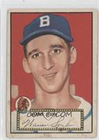 Warren Spahn (Red Back) [Good to VG‑EX]