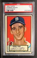 Warren Spahn (Black Back) [PSA 5]
