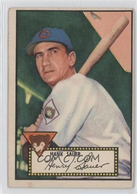 1952 Topps #35 - Hank Sauer