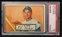 Gil Hodges (Red Back) [PSA 4]