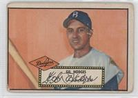 Gil Hodges (Black Back) [Good to VG‑EX]