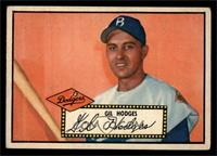 Gil Hodges (Black Back) [VG EX]
