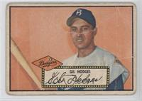 Gil Hodges (Black Back) [Poor to Fair]