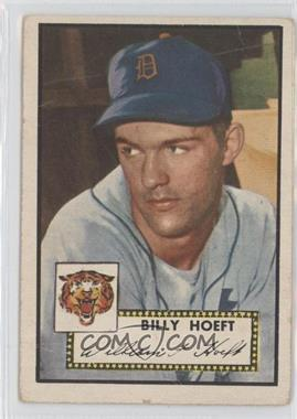 1952 Topps #370 - Billy Hoeft [Good to VG‑EX]