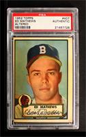 Eddie Mathews [PSA AUTHENTIC]