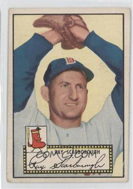 1952 Topps #43.2 - Ray Scarborough (Black Back)