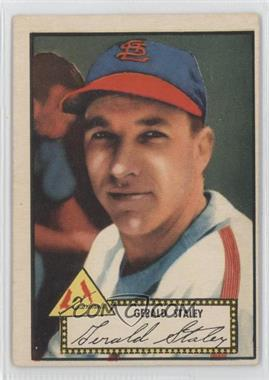 1952 Topps #79.1 - Jerry Staley (Red Back)