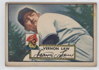 1952 Topps #81 - Vern Law [Good to VG‑EX]