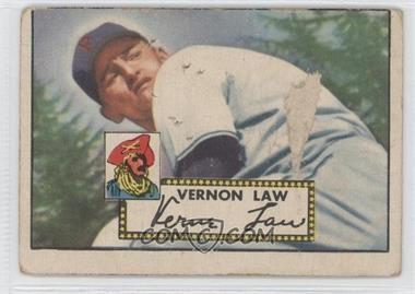 1952 Topps #81 - Vern Law