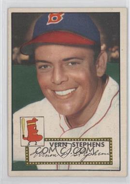 1952 Topps #84 - Vern Stephens