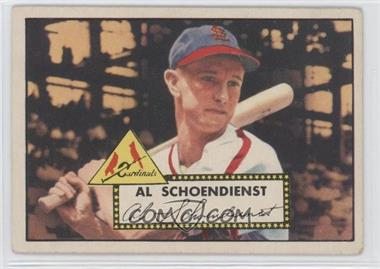 1952 Topps #91 - Red Schoendienst [Good to VG‑EX]