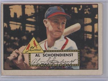1952 Topps #91 - Red Schoendienst [GoodtoVG‑EX]