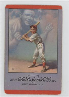 1953-55 Brown & Bigelow - Playing Cards #BARU.2 - Babe Ruth (Abele Farm Equipt. Corp.)