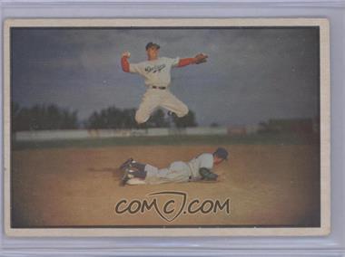 1953 Bowman Color - [Base] #33 - Pee Wee Reese [GoodtoVG‑EX]