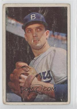 1953 Bowman Color #12 - Carl Erskine