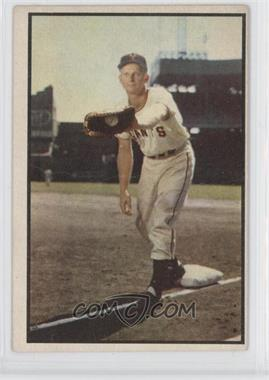 1953 Bowman Color #128 - Whitey Lockman