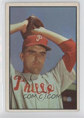 1953 Bowman Color #64 - Curt Simmons [Good to VG‑EX]