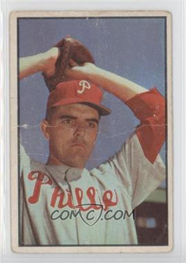 1953 Bowman Color #64 - Curt Simmons [GoodtoVG‑EX]