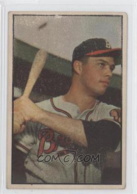 1953 Bowman Color #97 - Eddie Mathews [GoodtoVG‑EX]