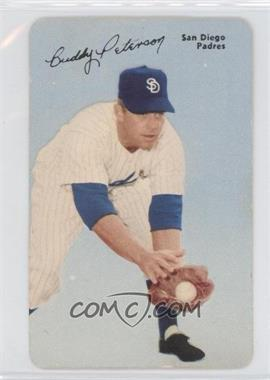 1953 Mother's Cookies Pacific Coast League - [Base] #8 - Buddy Peterson [Good to VG‑EX]
