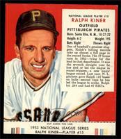 Ralph Kiner [EX]