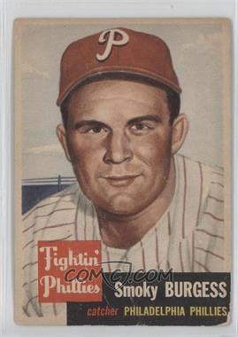 1953 Topps - [Base] #10 - Smoky Burgess