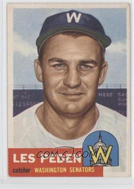 1953 Topps - [Base] #256 - Les Peden