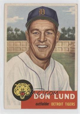 1953 Topps - [Base] #277 - Don Lund
