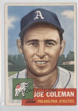 1953 Topps - [Base] #279 - Joe Coleman