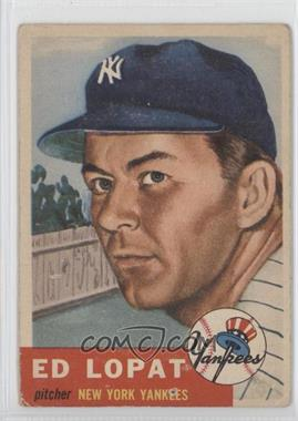 1953 Topps - [Base] #87 - Ed Lopat