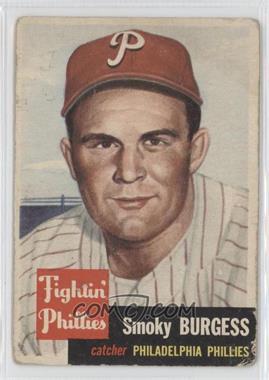 1953 Topps #10 - Smoky Burgess