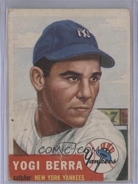 1953 Topps #104 - Yogi Berra [Poor to Fair]