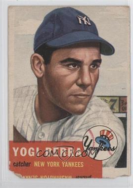 1953 Topps #104 - Yogi Berra