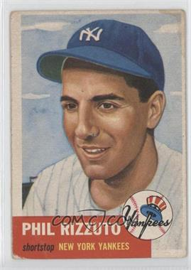 1953 Topps #114 - Phil Rizzuto [Good to VG‑EX]