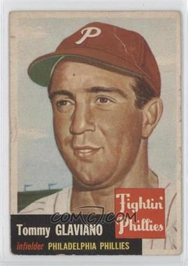 1953 Topps #140 - Tommy Glaviano