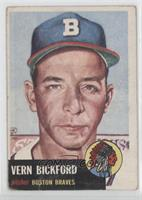 Vern Bickford [Good to VG‑EX]