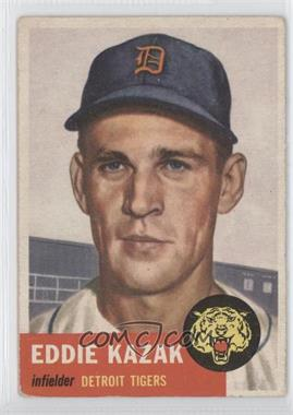 1953 Topps #194 - Eddie Kazak
