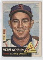 Vern Benson [Poor to Fair]
