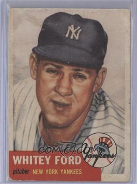 1953 Topps #207 - Whitey Ford [PoortoFair]
