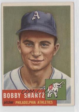 1953 Topps #225 - Bobby Shantz