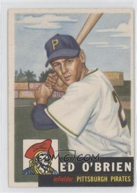 1953 Topps #249 - Ed O'Brien