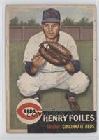 Henry Foiles [GoodtoVG‑EX]