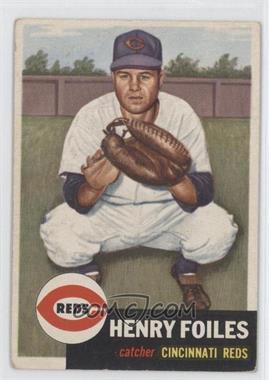 1953 Topps #252 - Henry Foiles